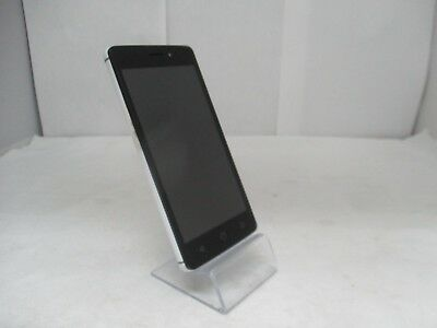 UNLOCKED NUU MOBILE Mobile F1 Flip Cell Phone Silver FREE