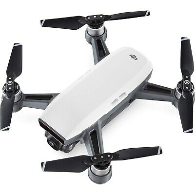 Dji Spark Drone Alpine White With Remote Control Combo - Brand New (Warranty)