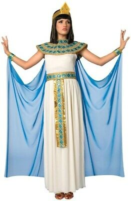 Cleopatra Queen of Nile Egyptian Ancient Egypt Roman Deluxe Womens Costume Plus