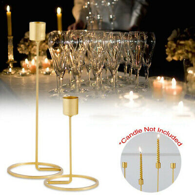 Event Candlestick Tea Light Holder Romantic Wedding Party Villa Model Ron Decor
