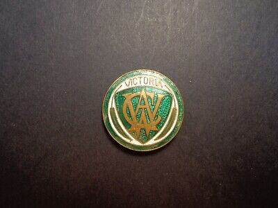 Australian.victorian,Womans Country Authority Badge -:- Maker Marked.