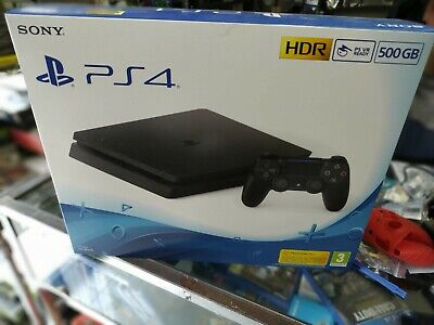 Sony Playstation 4 Slim 500gb nuova sigillata + gioco omaggio /New Sealed ps4