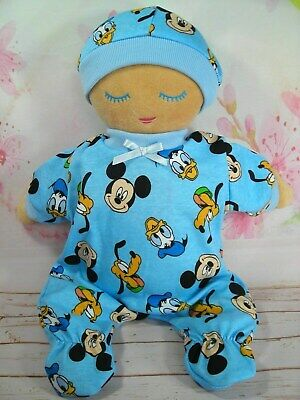 Dolls Clothes For Lulla Doll~Mickey Mouse~Donald Duck~Pluto~Goofy Jumpsuit & Hat