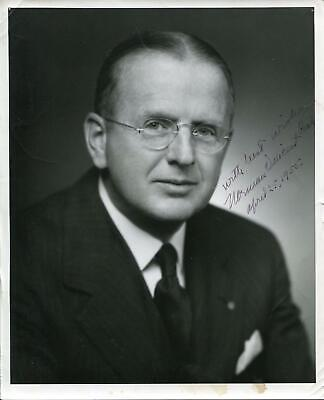 Norman Vincent Peale Autograph Minister Power of Positive Thinking Signed Photo