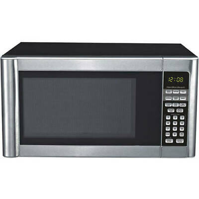 Hamilton Beach 1.1 Cu. Ft. Stainless Steel Microwave Oven