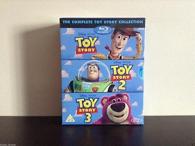 The Toy Story Complete Collection (Blu-ray) *NEW*