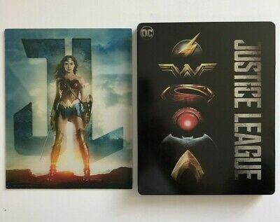 JUSTICE LEAGUE: WONDER WOMAN LENTICULAR MAGNETIC CARD for STEELBOOK *Read*
