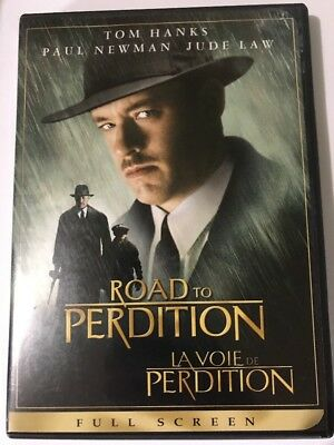 Road to Perdition (DVD, 2003, Full Frame) Tom  Hanks Paul Newman Jude Law