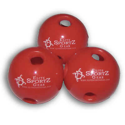 Mini Hollow Wiffle Hole Ball Golf Ball Hitting Training 12 Pack Durable Thick