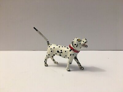 Lead Cast Spring Tail Dog Toy Dalmatian