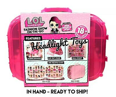 LOL Surprise 4 IN 1 Fashion Show On The Go Doll Pets Carrying Case Display Store