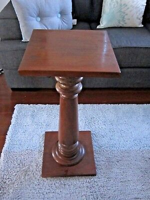 """Vintage Mid Century Cathedral Style Pedestal Plynth Plant Stand by """"MYER-ROCKE'"""