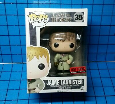 Funko Pop! Game of Thrones Jaime Lannister #35 Hot Topic Pre Release Retired