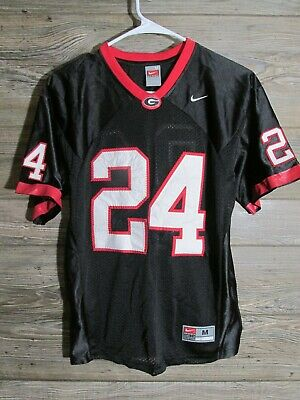 best service 8ab2e 47c66 BOYS NIKE SEWN Football Jersey UGA Georgia Bulldogs Knowshon Moreno Youth  Medium