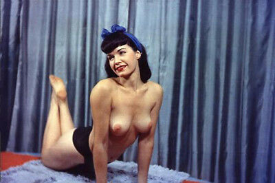 Vintage Bettie Page Photo 657 Oddleys Strange & Bizarre 4 x 6