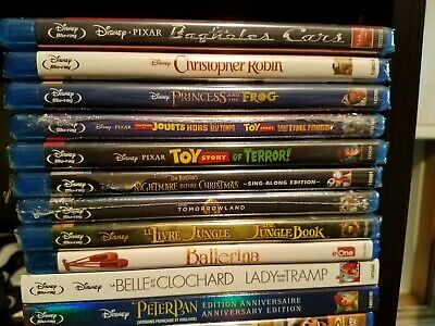 Various Family & Kids Animated Bilingual Movies (Bluray/DVD) Disney, Pixar, etc