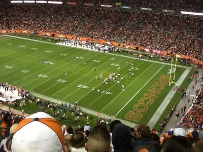 6aa8fafc TWO (2) DENVER Broncos Vs. Tennessee Titans United Club Level ...