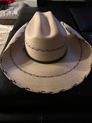COWBOY HAT ~ Western PALM LEAF Straw ~ ALAMO® - Kenny