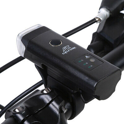 Bike Waterproof LED Bright Front Lamp USB Rechargeable Bicycle Head Light Gear