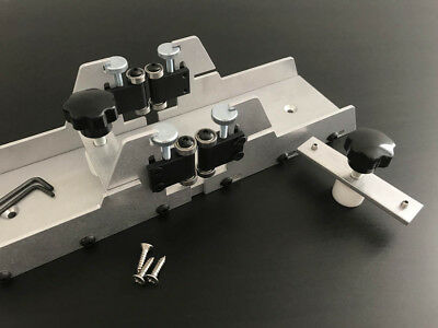 Fret Slotting Miter Box With Clamps - Cut Fret Slots Smoothly & Efficiently.
