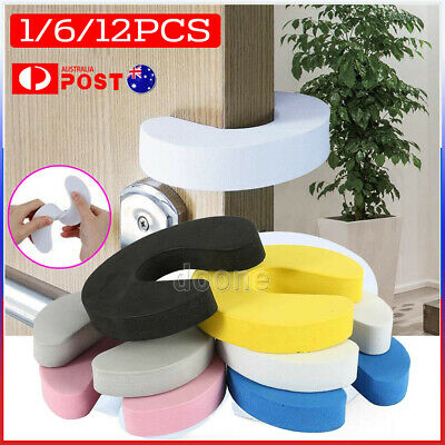 2/6/12 Door stopper Baby Finger Protector Jammers lock Pinch Guard Kid Safety AU