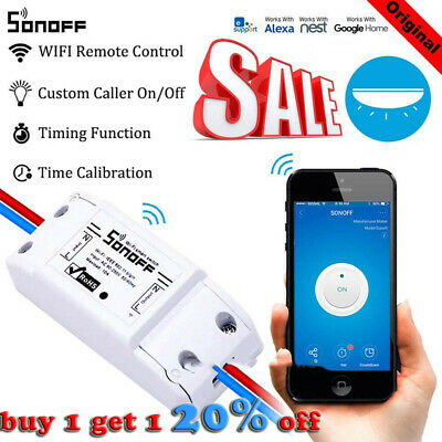Sonoff ITEAD Smart Home WiFiSwitch Module For Apple Android APP Control
