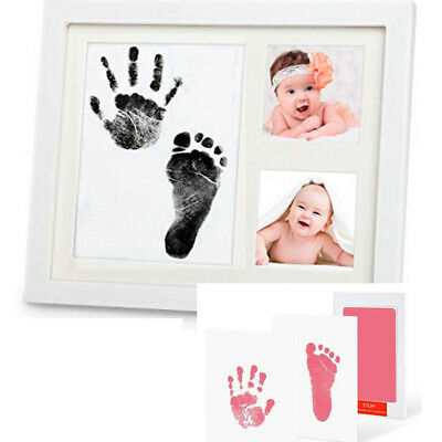 UK Baby Handprin Footprint Ink Pad Print Kit for Making Souvenir Photoes Albums