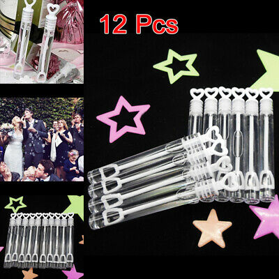 MINI BUTTERFLY BUBBLE TUBES Party Bag Filler Wedding Favours Table Decor Gift