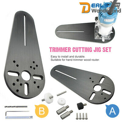 Circle Cutting Jig Fit For Electric Trimmer/Router Woodworking Milling Groove