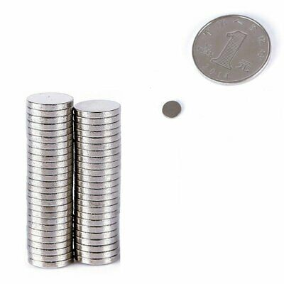 Super Strong Round Disc Rare-Earth Neodymium Magnet N35 Variou Size 10-100Pc NEW