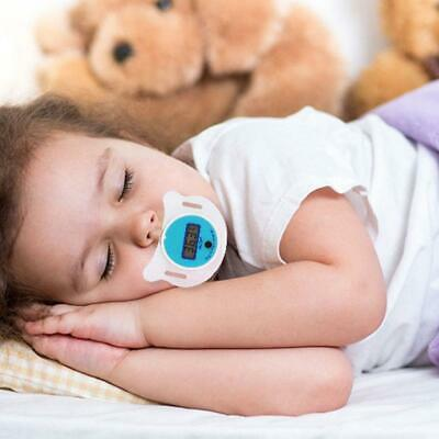 Digital Dummy Soother Pacifier Baby Toddler Child Oral Thermometer Portabl New