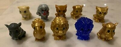 RARE Ooshies collection including Blue Mufasa and Gold Scar