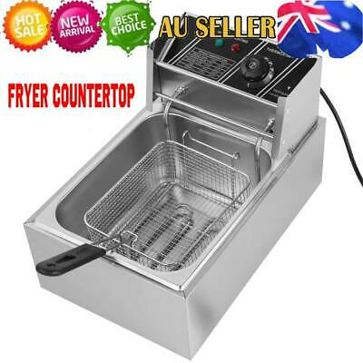 Commercial Use Economical Single Cylinder Deep Fryer Electric Countertop