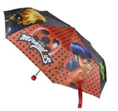 Miraculous Ladybug Folding Umbrella - Marinette Officially Licensed Brolly