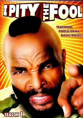 New Dvd - I Pity The Fool -  Mr T -  Season 1 -  Hilarious  Reality Television