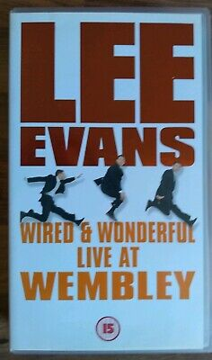 Lee Evans: Wired & Wonderful - Live At Wembley/London - Physical Comedy - VHS