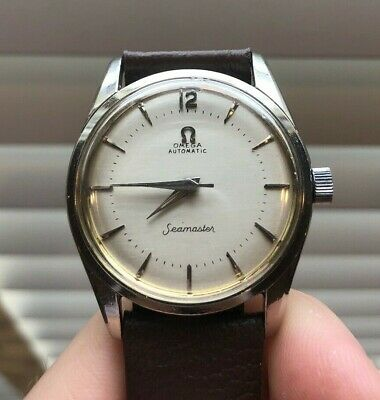 Vintage Omega Automatic Seamaster Mens Watch 1950s Great Condition