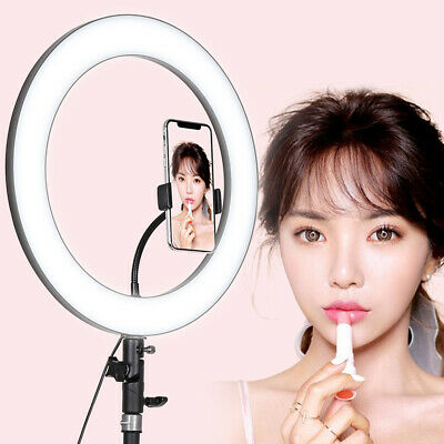 36cm 288 LED ring light 18W 5600K dimmable mobile phone live stand fill light CN
