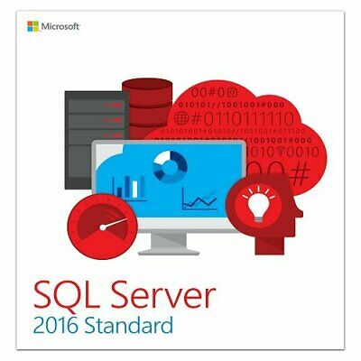 MS SQL Server 2016 Standard Product Key - Unlimited Cores | 1 Second Delivery