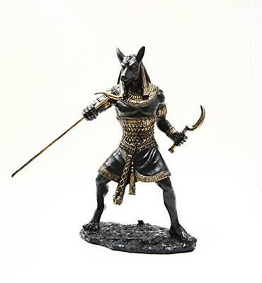 Ancient Egyptian God Anubis Figurine 10 Inch Statue Sculpture Collectable Gift