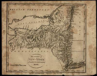 Map Of New York In 1800.1835 Map Of New York City Nyc Drawn By D H Burr Published By J