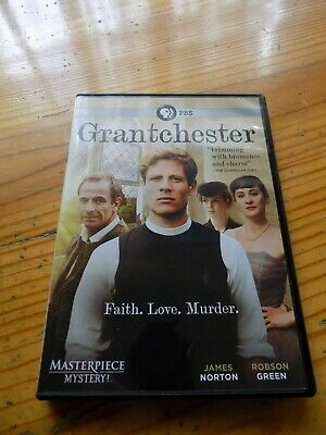 Masterpiece Mystery: Grantchester (DVD, 2015, 2-Disc Set) ~ Like New