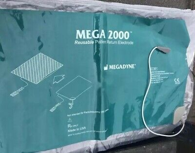 *NEW* MegaDyne 2000 Patient Return Electrode Pad 0800s Free Shipping.