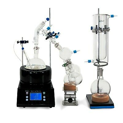 USA Lab Equipment Premium 1000mL / 1L Short Path Distillation Kit
