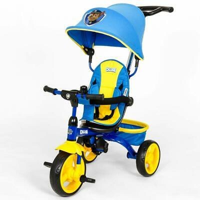 KidsEmbrace Paw Patrol Chase 4-in-1 Push and Ride Stroller Tricycle Free Ship!