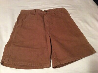 Carhartt Shorts-B24 Sandstone-CHT and B25 BRN-Faded streak-See Auction-Special