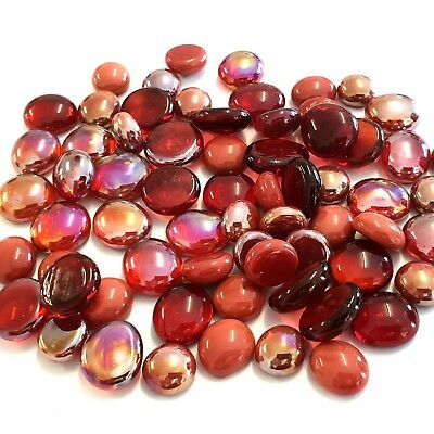 Mosaic Glass Droplets 100 grams - Rubylicious