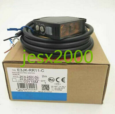 1PC  OMRON  Photoelectric Switch E3JK-RR11-C
