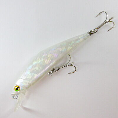 momolures Heavy Sinking Minnow 85mm 14.3g D-contact style lure #58 SILK MIRAGE