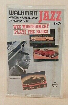 Wes Montgomery - Wes Montgomery Plays The Blues - Cassette, CrO2 & Dolby HX Pro